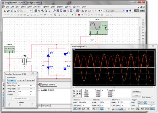 Circuito Eletronica : Simuladores um grande avanço para a eletrônica render