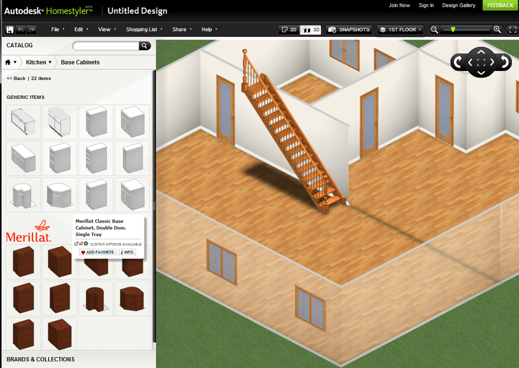 Conhe a autodesk homestyler incr vel ferramenta gratuita for Rendering casa gratis