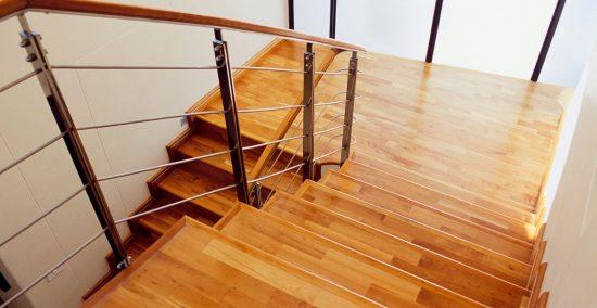 Como calcular escada reta