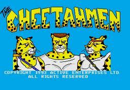 Tela inicial do jogo The Cheetahmen lançado informalmente para NES Fonte: Wikipédia