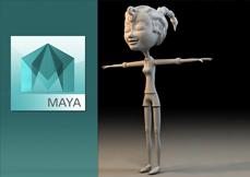 Capa Curso - Maya 2016 Modelagem de Personagens