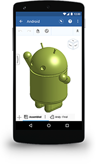 OnShape para Android - Celular