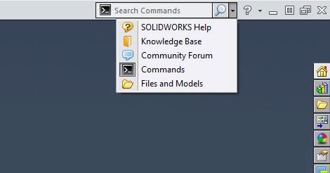 Dicas SolidWorks: Pesquisa de Comandos