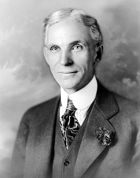 Henry Ford - retrato