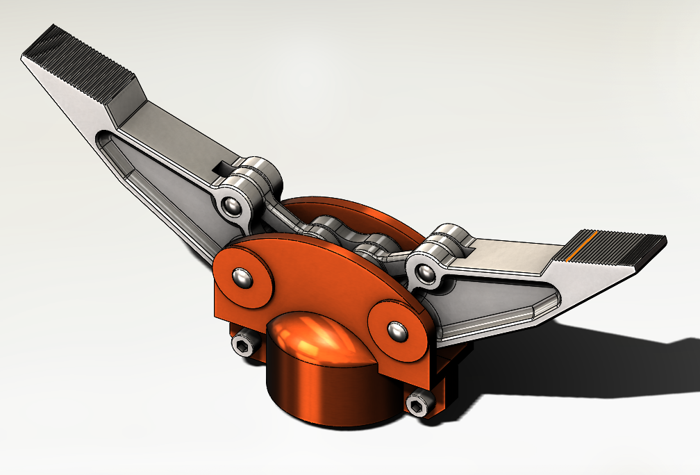 SolidWorks Exemplos Práticos - Garra Mecânica