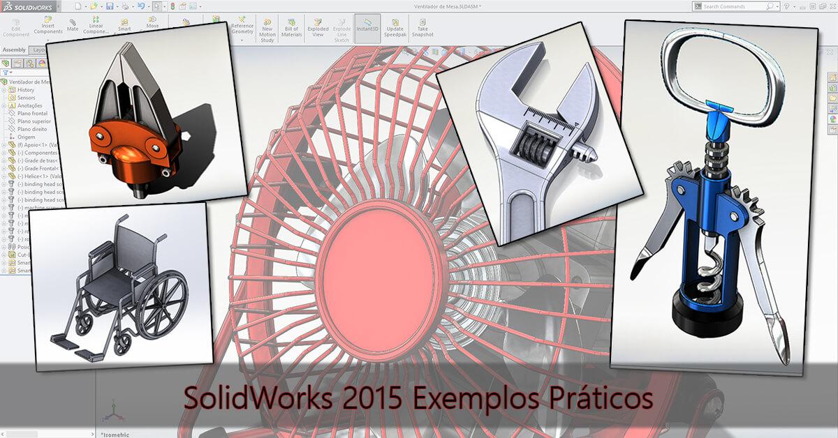 SolidWorks Exemplos Práticos - Capa