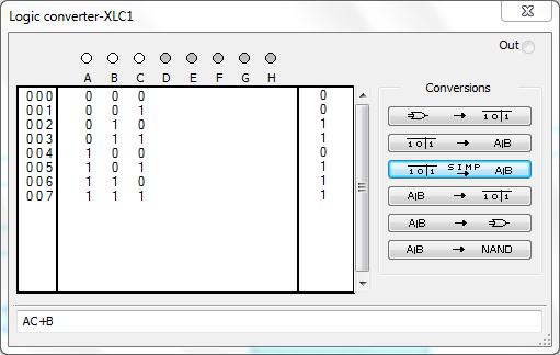 06 - Simplificar Álgebras Booleanas Multisim