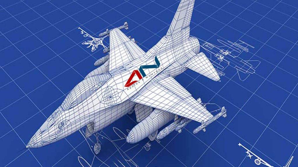 A modelagem 3D na área de engenharia aeronáutica requer codificação precisa da geometria da superfície