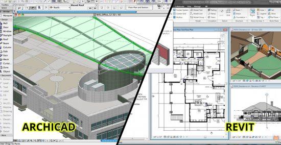 ArchiCAD VS Revit. Qual software BIM usar?