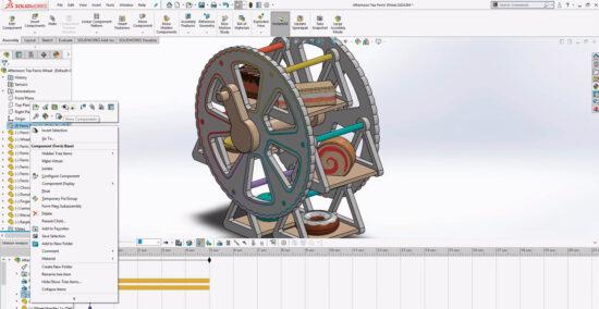 Tutorial – Roda gigante – parte 2